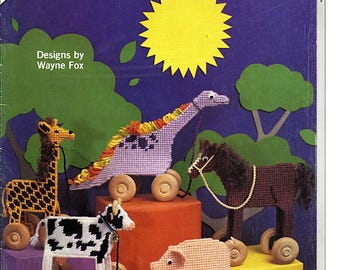 Tag A Long Toys Plastic Canvas Pattern Back street Designs BS134