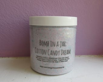 Cotton Candy - Bomb in a Jar