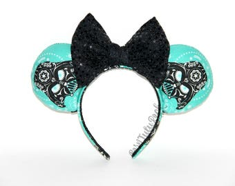 Darth Vader Mouse Ears // Sugar Skulls Mouse Ears // Star Wars Mouse Ears // by Born Tutu Rock