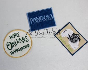 Photo Pass Photography camera mammarazzi  papparazzi Iron On patch