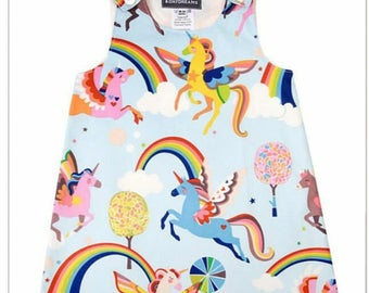 Unicorn Pegasus dress
