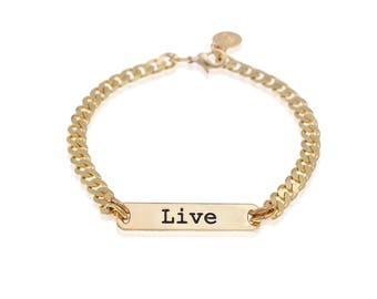 Inspirational Bracelet, Personalized Bracelets For Her, Friendship Bracelet, Gold Stackable Bracelets, Gold Plated Bracelet, Boho Chic Style