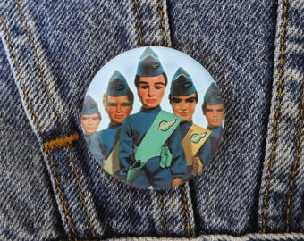 Thunderbirds Children's Action Television Kid's Badge