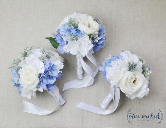 Bridesmaid Bouquet Wedding Flowers Set Silk