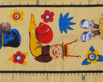 Vintage The Magic Roundabout Height Chart