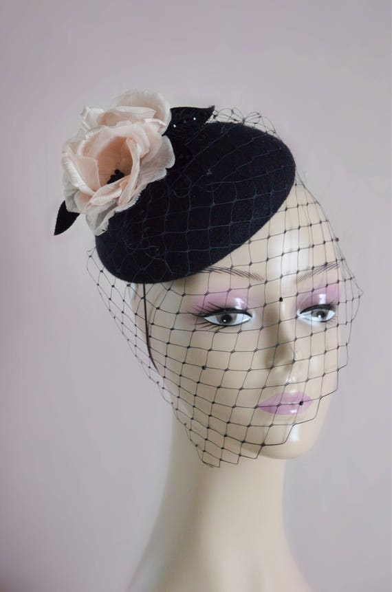 Black Hat Fascinator