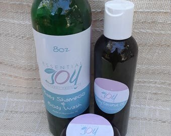 Baby Gift Set, Baby Shampoo, Baby Oil, Baby Balm, Natural Baby, Baby Shower, Baby products,  Expecting Mom gift, New Baby Gift