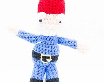 Gnome Stuffed Toy - Amigurumi Gnome - Crochet Gnome Stuffed Animal - Baby Gift
