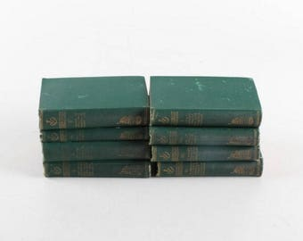 RARE Handy Valpy Shakespeare 8 book set Plays and Poems by R. Worthington Importer circa,1880