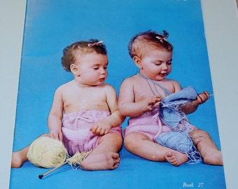 1951 Bernat Handicrafter, knitting for Babies