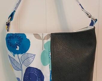 Leather Bonnie Bucket Bag