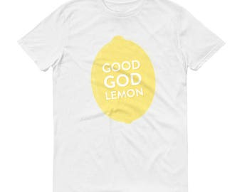"30 Rock Shirt ""Good God Lemon"" Tina Fey Liz Lemon TV Show Pop-Culture Mens Short-Sleeve T-Shirt"