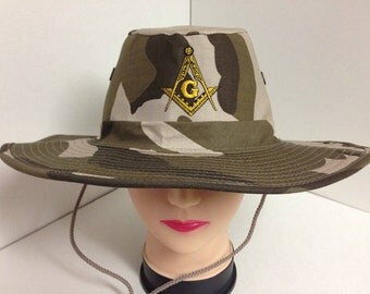 Masonic Boonie Style Hats