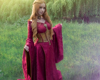 Dress of Cersei Lannister (Recreation) Game of thrones - Game of thrones - gown