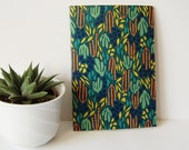 Cactus Patterned Blank No...
