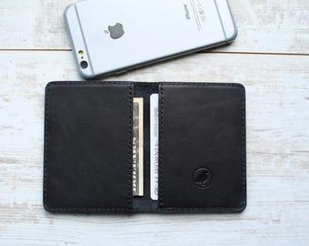 minimalist wallet, slim wallet, front pocket wallet, wallet for him, personalized wallet, mens leather wallet, wallet for dad, wallet men