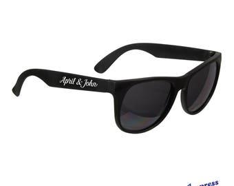 Personalized Sunglasses Wedding Bulk Custom Beach Favor Party Glasses Printed For