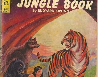 Classics Illustrated N0. 83 The Jungle Book by Rudyard Kipling - Comic Book