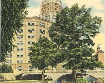San Antonio Texas San Antonio River Vintage Postcard (unused)