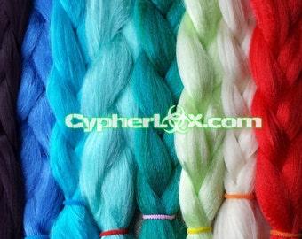HQ* KK Braiding Hair - Multiple Colors - 100% High Quality Kanekalon Jumbo Braid