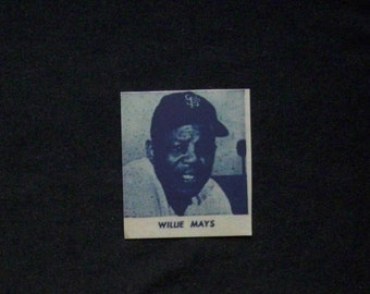 1964 Meadowgold Dairy {} Willie Mays [N.Y./S.F Giants] Repro
