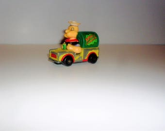 Popeye Lesney Matchbox Car, Popeye Spinach Truck, King Features Character Series, 1980 VT3010