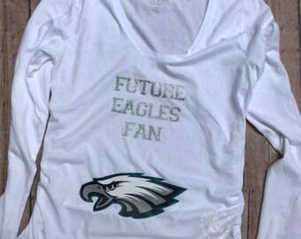 philadelphia eagles maternity shirt a08d54fde