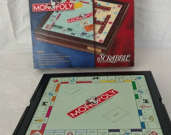 """Monopoly / Scrabble """"Twin Play Classics Game ~"""