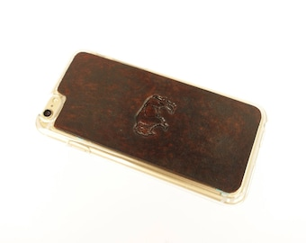 Leather iPhone X Case | American Bison / Buffalo
