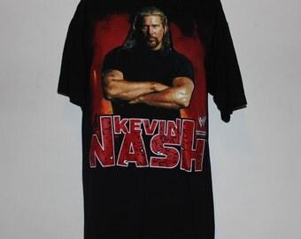 Vintage Kevin Nash WWE Wrestling T-Shirt L