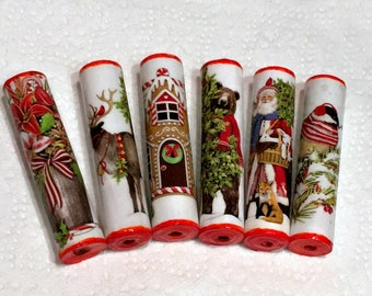 Christmas Paper Beads