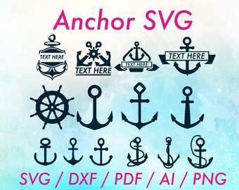 Anchor SVG / Anchor SVG file / Anchors SVG / Anchor dxf / Anchors dxf / Chevron anchor svg / Split anchor svg