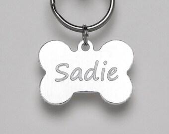 Custom Engraved Pet Tag - Custom Pet Tags - Engraved Dog Tag - Dog ID Tag - Bone-shaped Dog Tag - Pet ID Tags - Dog Collar Tag - I.D. Tags