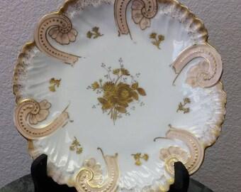 Charles Ahrenfeldt Plate Limoges France