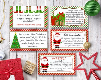 Shelf Elf Activity Cards - Editable Template - Microsoft Word Format