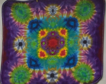 Tie Dye Babies Receiving Blanket