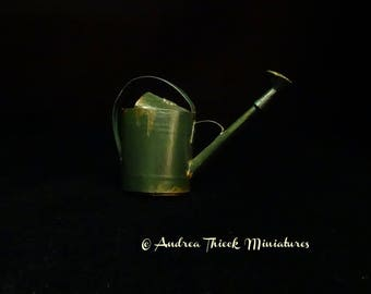 Miniature Watering Can - 1-12 scale OOAK