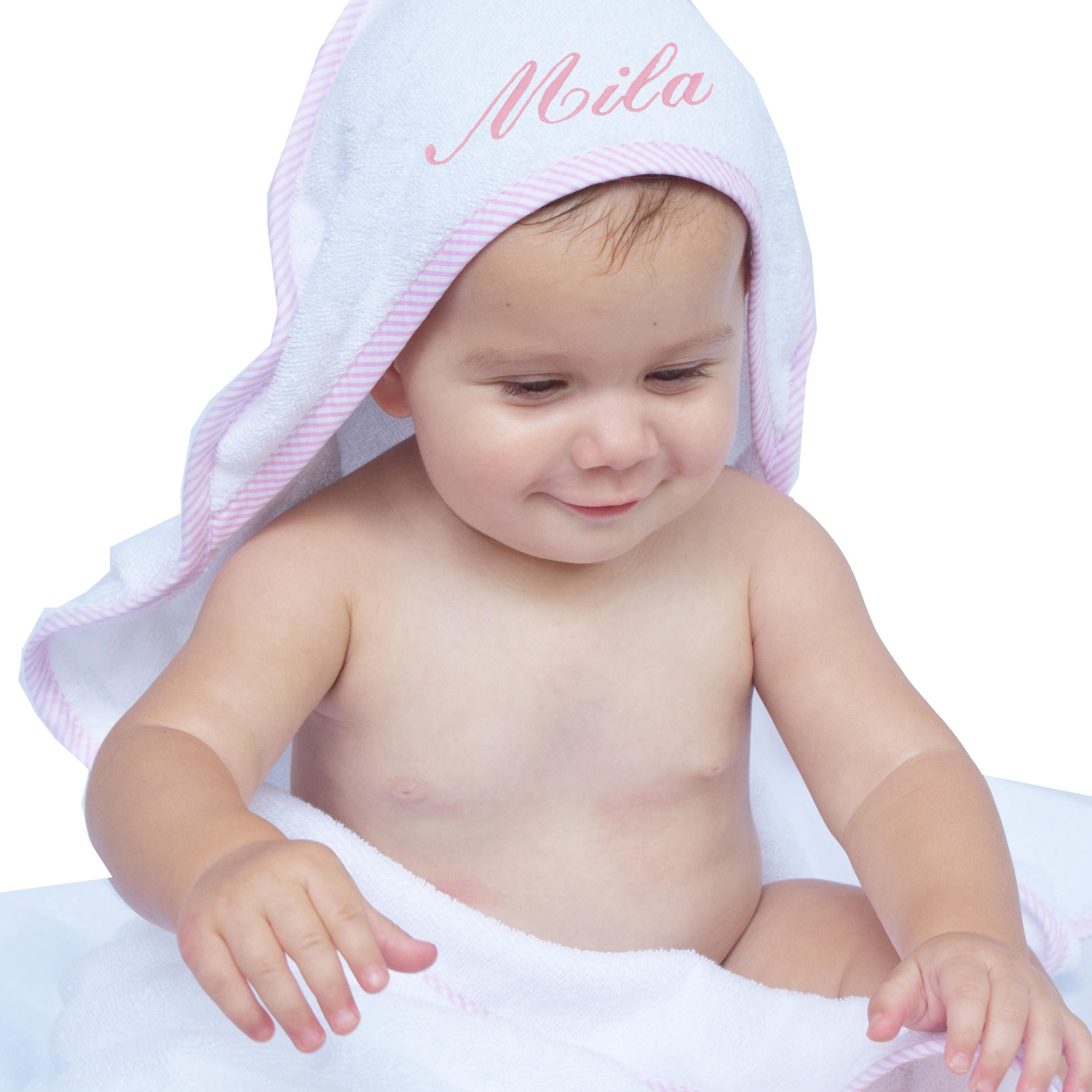 Personalized Hooded Bath Towel Hooded Towel Baby Boy Baby