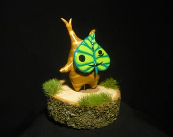 Zelda: The Windwaker - Korok Makar - handsculpted miniature Figurine