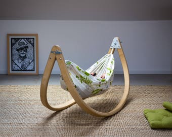baby hammock craddle  nurcery decor kids room decor baby bed baby sleep toddler hammock   etsy  rh   etsy