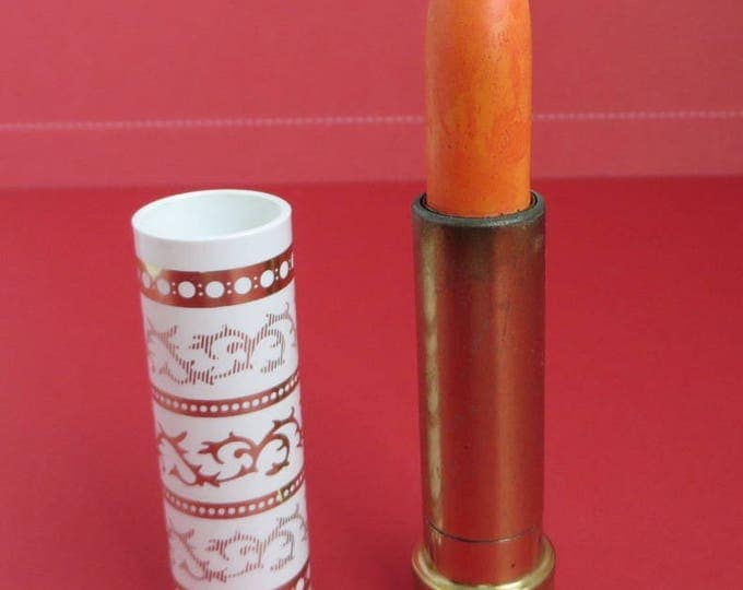 Vintage Clairol Lipstick - 1960s Peach 'N Lively, Number 54, New Old Stock, Collector's Lipstick