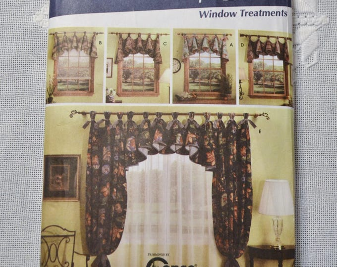 Vintage Simplicity 5696 Sewing Pattern Window Treatments One Size Crafts  DIY Sewing Crafts PanchosPorch