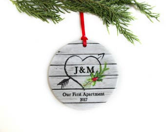 Ceramic ornaments etsy for First apartment ornament