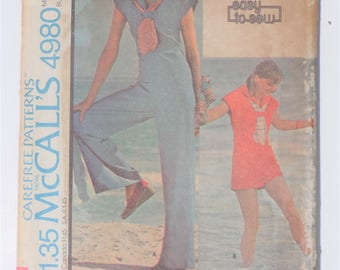 Vintage 1976 McCalls 4980 size 14 and 16