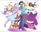Custom Pokemon Portrait