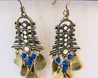 Eastern Hemisphere Asian Inspired Dangle Earrings