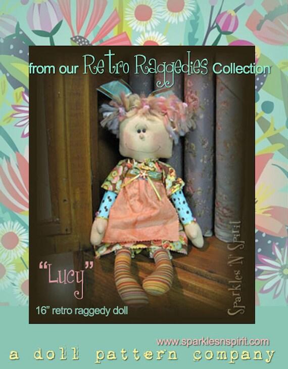 "Doll Kit: ""Lucy"" - 16"" Retro Raggedie"