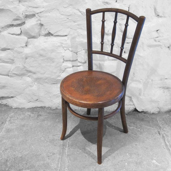 Bentwood Chair Thornet Fischel 1920s Patten Seat