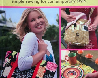 The New Handmade Simple Sewing For Contemporary Style By Cassie Barden Paperback Sewing Pattern Book 2008