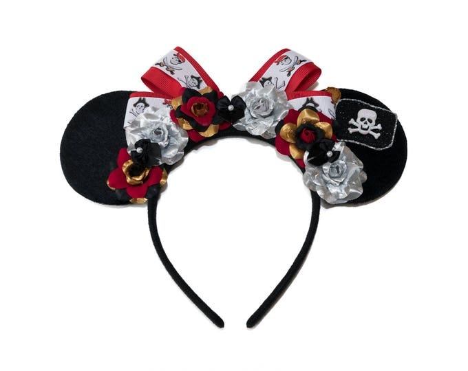 Pirates of the Caribbean Mouse Ears Headband